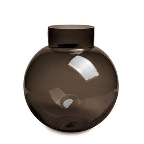 Glass Vase Brun XL