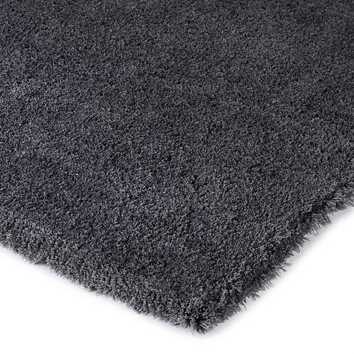 Tuftet teppe Ø250 Dark grey