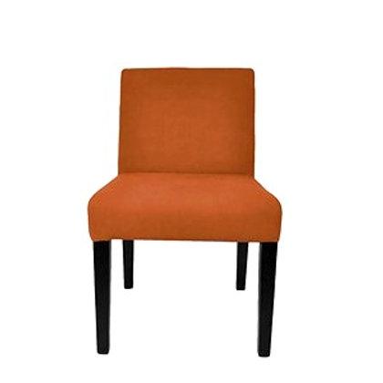 Dining Chair Velour Orange