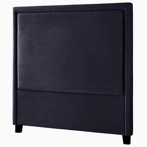 Headboard Velour 150 Black