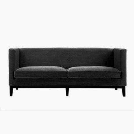 Sofa LEXINGTON Velour Black