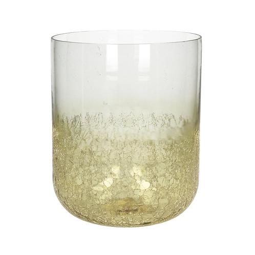 Lykt / Vase Crocky Gold