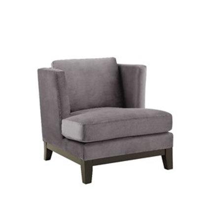 Stol Hamilton Velour Grey