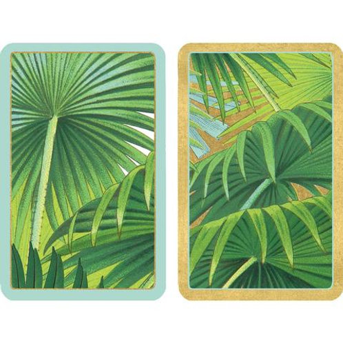 Playing Cards - Palm fronds