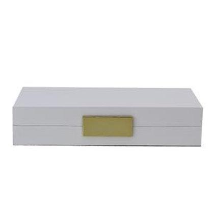 Lakk boks - Jewelry - Hvit