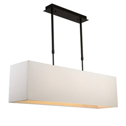Taklampe ARUBA - 110 cm Hvit