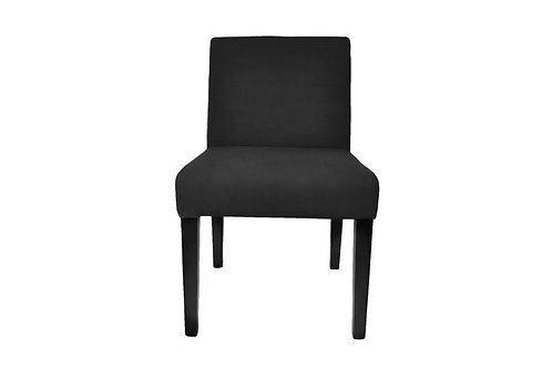 Dining Chair Velour black