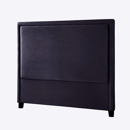 Headboard Velour 180 Black