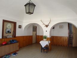 Vestibul rodinného statku rodu Sáblíků