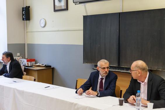 Kulatý stůl ke kybernetické bezpečnosti s panem Ivanem Pilným, bývalým ministrem financí, současný zmocněnec pro digitální vzdělávání