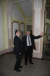 S ministrem školství Dobešem 2