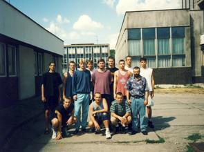 Na soustředění s týmem Sokola Motol muži v Nymburku