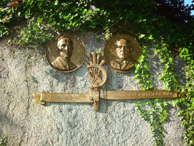 Památník na pradedečka senátora Karla Sáblíka