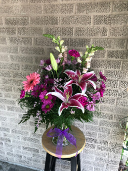 Pink/Purple Fresh Arrangement