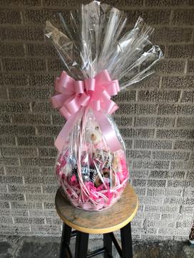 Baby Girl Theme Gift/Goodie Basket