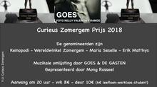 Wie wint Curieus Zomergem Prijs 2018?