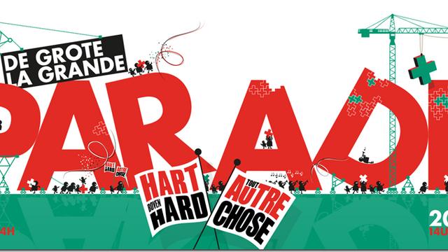 """Hart boven Hard organiseert op zondag 20 maart """"De Grote Parade"""""""