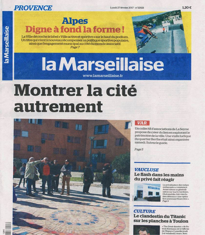 Article La Marseillaise - 27/02/2017