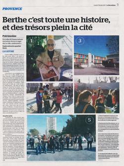 Article La Marseillaise - 27/02/2017