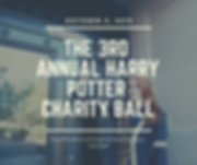 3rd Annual Harry Potter Charity Ball