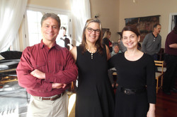 with David Wurts and Nathalie Fortin