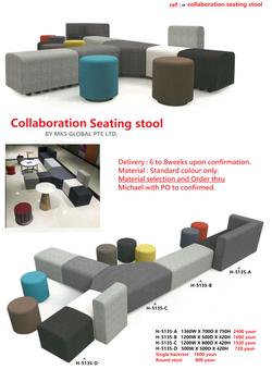 collaboration seating stool H 5135.tif