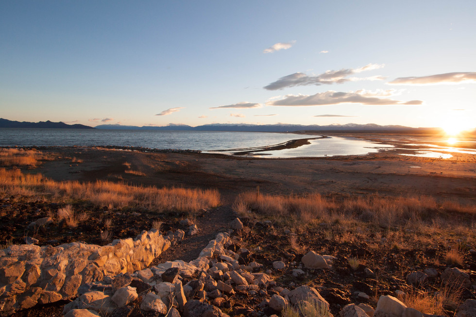 Sunrise, Great Salt Lake 1