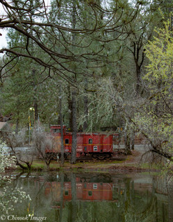 Retired Caboose 2, Midpines, CA