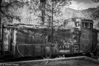 Retired Caboose, Midpines CA