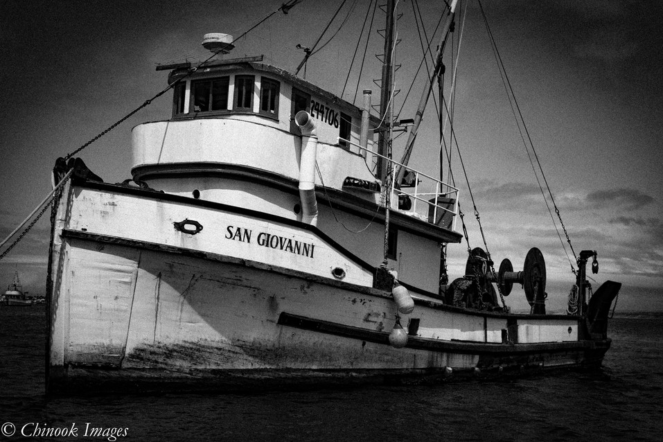 Fishing Boat, Monterey