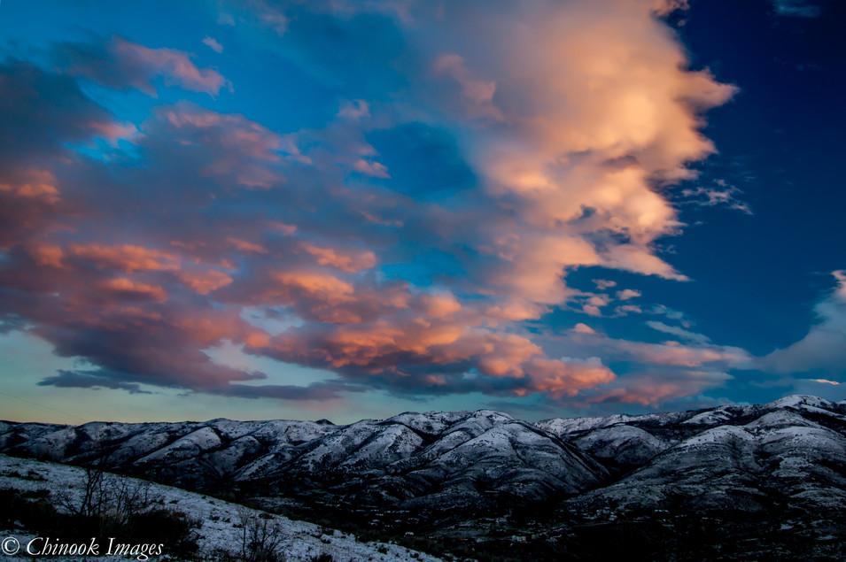 Sunrise, Emigration Canyon