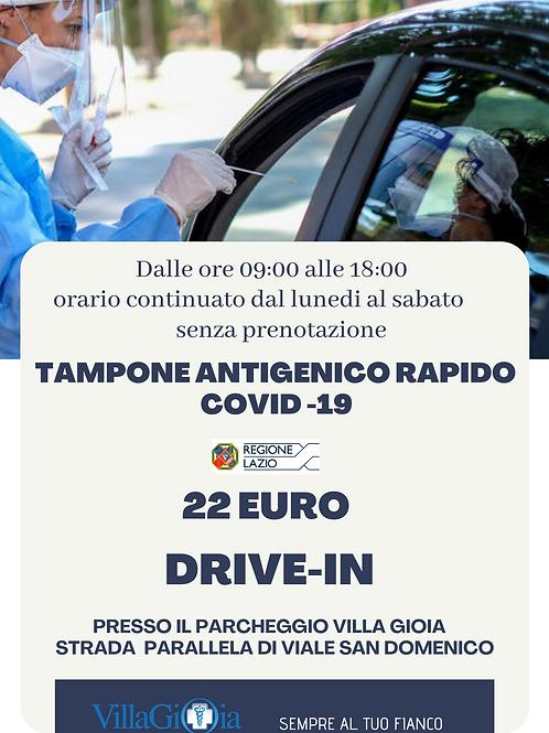 TAMPONE ANTIGENICO RAPIDO COVID-19