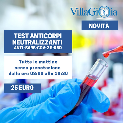 ANTICORPI NEUTRALIZZANTI ANTI-SARS-2 S-RBD