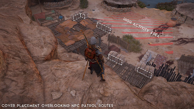 An Analysis of Assassin's Creed Origins: Strongholds
