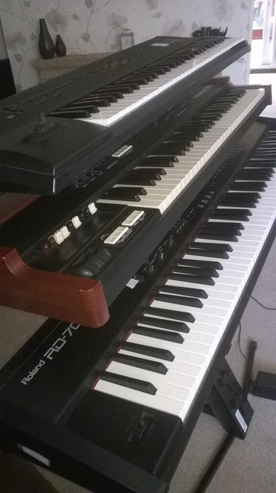 My keyboard rig