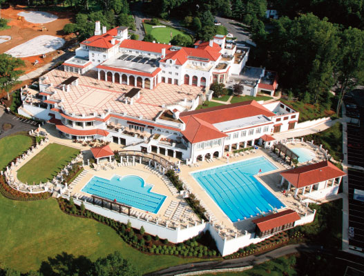 Congressional Country Club (aerial)