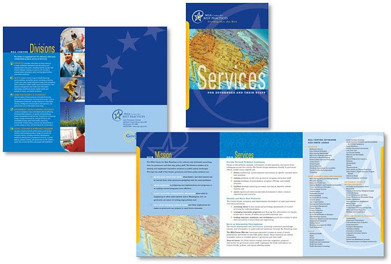 6 panel brochure