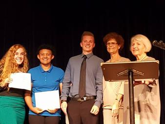 2017 Vision Academy Scholarship Recipients