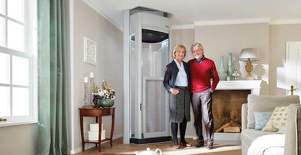 ลิฟต์บ้านขนาดเล็กรุ่น Duo Plus