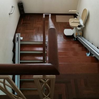 ผลงานการติดตั้ง ลิฟท์บันได 32