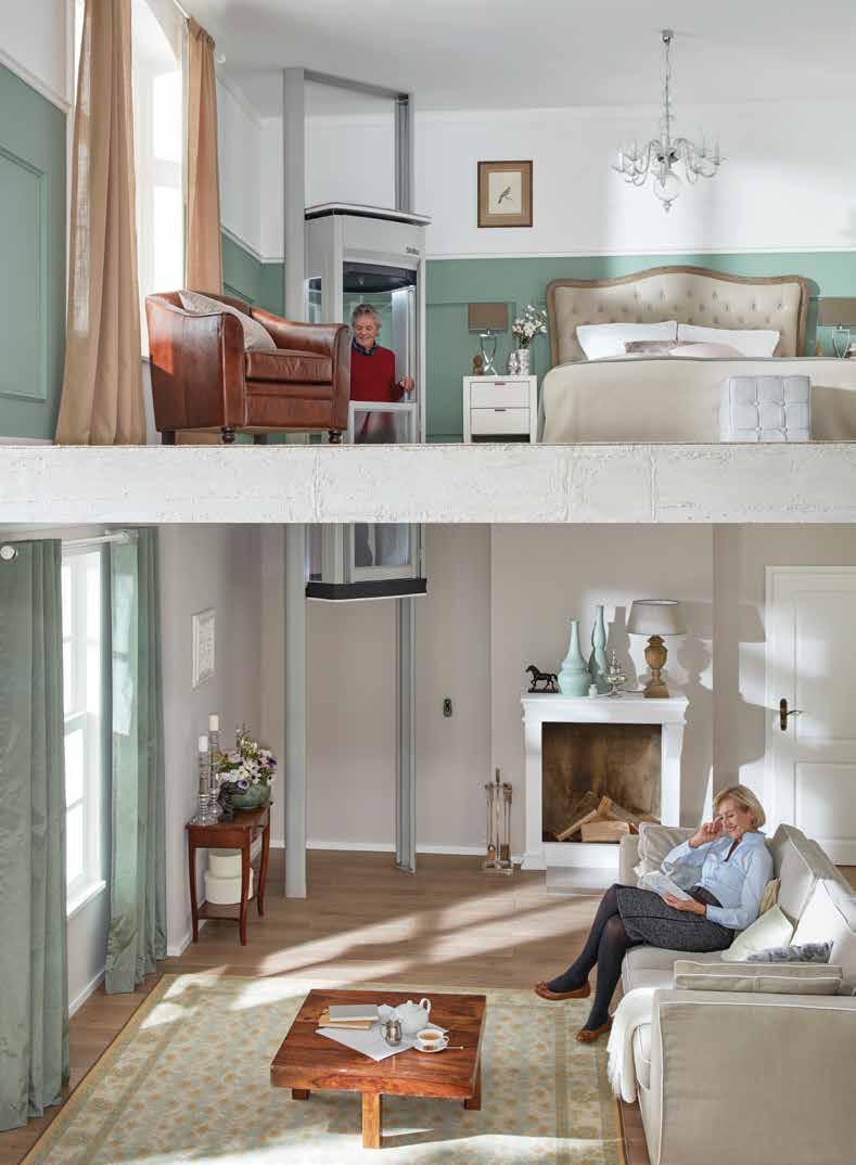 Stiltz Duo+Trio+ ลิฟต์บ้านขนาดเล็ก