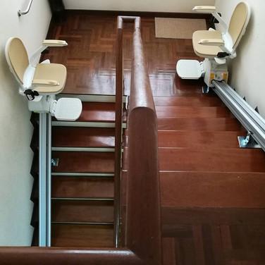 ผลงานการติดตั้ง ลิฟท์บันได 48