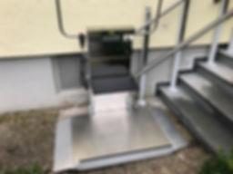 Stainless steel platform lift