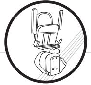 เก้าอี้เลื่อนขึ้นบันไดพับได้
