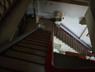 ลิฟท์บันได Stairlifts อุปกรณ์อำนวยความสะดวกในการขึ้นลงบันได
