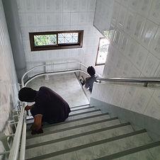 ซ่อมบำรุงลิฟต์บันได