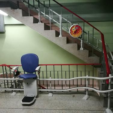 ผลงานการติดตั้ง ลิฟท์บันได 43