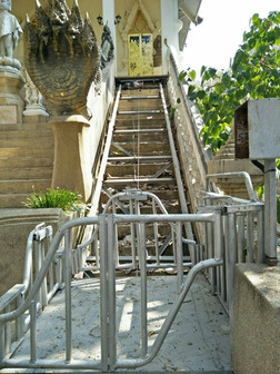 Staircase for stairlift