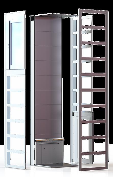 ลักษณะของลิฟต์บ้าน SB200