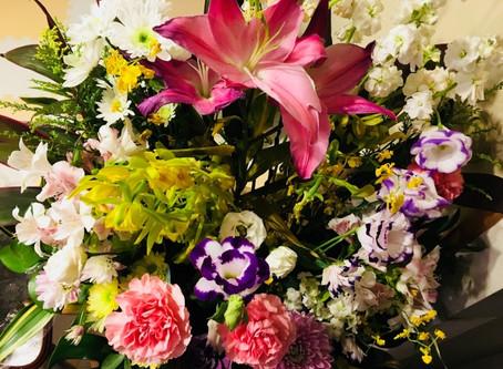 永代供養墓への供花